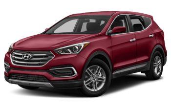 2018 Hyundai Santa Fe Sport - Serrano Red