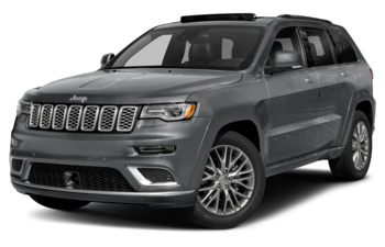 2020 Jeep Grand Cherokee - Billet Silver Metallic
