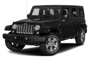2018 Jeep Wrangler JK Unlimited - Black