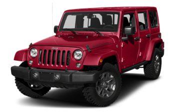 2018 Jeep Wrangler JK Unlimited - Firecracker Red