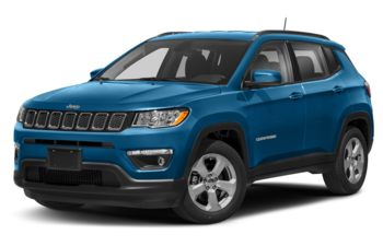 2020 Jeep Compass - Laser Blue Pearl