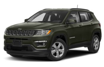 2019 Jeep Compass - Olive Green Pearl