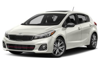 2018 Kia Forte 5-door - Snow White Pearl