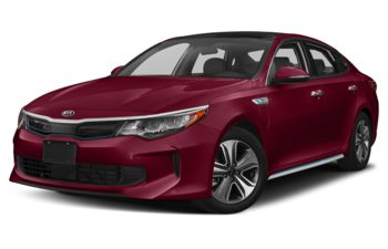 2018 Kia Optima PHEV - Temptation Red Metallic
