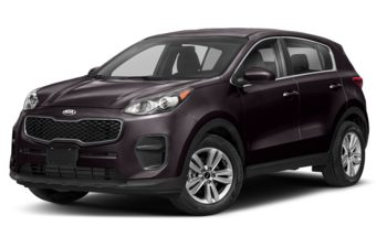 2019 Kia Sportage - Black Cherry