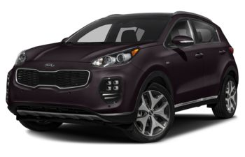 2018 Kia Sportage - Black Cherry