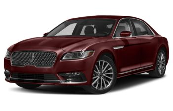2019 Lincoln Continental - Burgundy Velvet Metallic Tinted Clearcoat