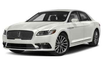 2019 Lincoln Continental - White Platinum Tri-Coat Metallic