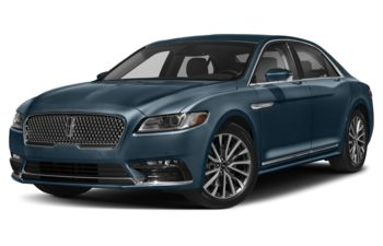 2019 Lincoln Continental - Blue Diamond Metallic