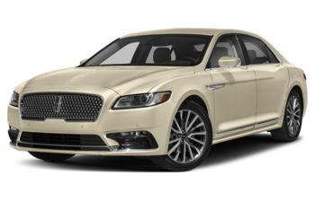 2018 Lincoln Continental - Ivory Pearl Metallic Tri-Coat
