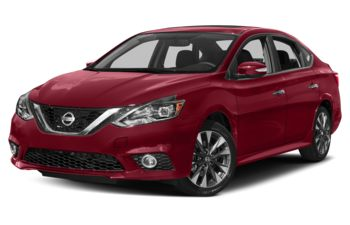 2017 Nissan Sentra - Solid Red