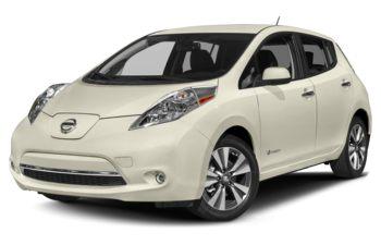 2017 Nissan LEAF - Pearl White
