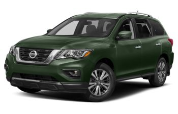 2019 Nissan Pathfinder - Midnight Pine Metallic