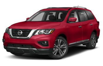 2020 Nissan Pathfinder - Scarlet Ember Pearl