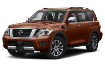 2019 Nissan Armada - Forged Copper Metallic