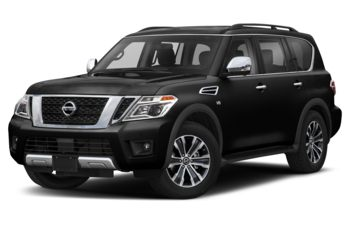 2019 Nissan Armada - Super Black