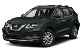 2018 Nissan Rogue - Magnetic Black Metallic
