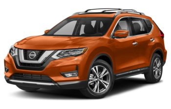 2018 Nissan Rogue - Pearl White