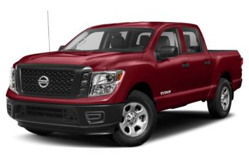2017 Nissan Titan - Cayenne Red Metallic