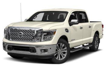 2019 Nissan Titan - Pearl White