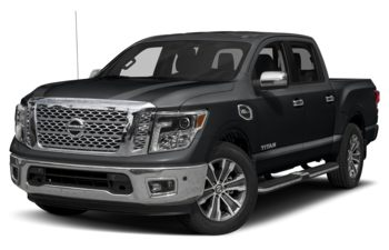 2019 Nissan Titan - Magnetic Black Metallic