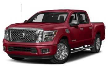 2019 Nissan Titan - Cayenne Red Metallic