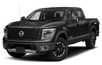 2019 Nissan Titan - Magnetic Black Metallic