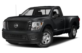 2017 Nissan Titan - Magnetic Black Metallic
