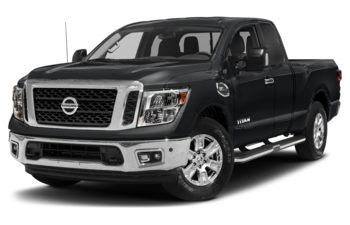 2018 Nissan Titan - Magnetic Black Metallic