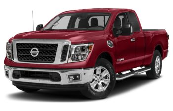 2018 Nissan Titan - Cayenne Red Metallic