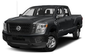 2018 Nissan Titan XD - Magnetic Black Metallic