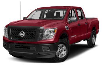 2017 Nissan Titan XD - Cayenne Red