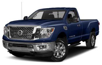 2017 Nissan Titan XD - Deep Blue Pearl