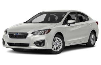 2018 Subaru Impreza - Crystal White Pearl