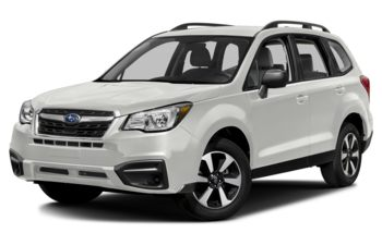 2018 Subaru Forester - Crystal White Pearl