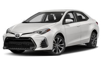 2018 Toyota Corolla - Alpine White