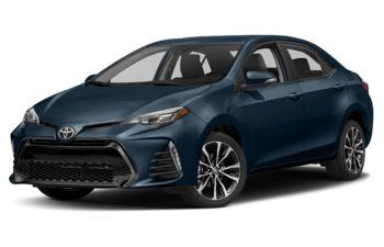 2018 Toyota Corolla - Galactic Aqua Mica