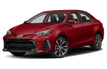 2018 Toyota Corolla - Barcelona Red Metallic
