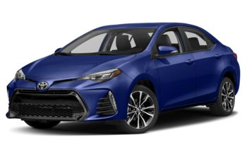 2018 Toyota Corolla - Blue Crush Metallic