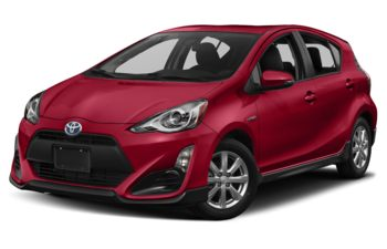 2018 Toyota Prius c - Absolutely Red