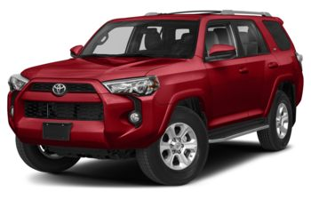 2019 Toyota 4Runner - Barcelona Red Metallic