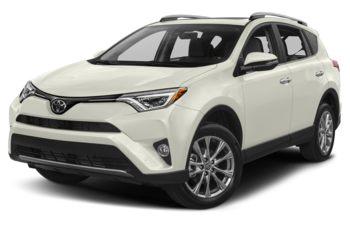 2017 Toyota RAV4 - Blizzard Pearl