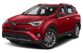 2017 Toyota RAV4 - Barcelona Red Metallic