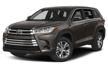 2018 Toyota Highlander - Pre-Dawn Grey Mica