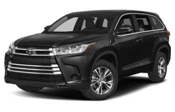 2019 Toyota Highlander - Midnight Black Metallic