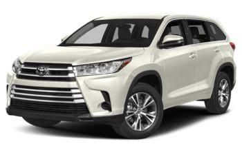 2018 Toyota Highlander - Blizzard Pearl