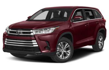2018 Toyota Highlander - Ooh La La Rouge Mica