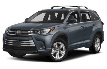 2019 Toyota Highlander - Shoreline Blue Pearl
