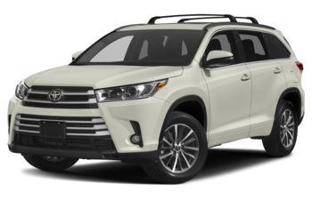 2017 Toyota Highlander - Blizzard Pearl
