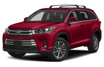 2017 Toyota Highlander - Salsa Red Pearl